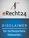 erecht24-siegel-disclaime